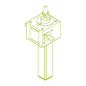 10 kN-20×4-Vis trapézoïdale S
