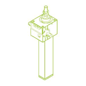2,5 kN-16×4-Vis trapézoïdale S