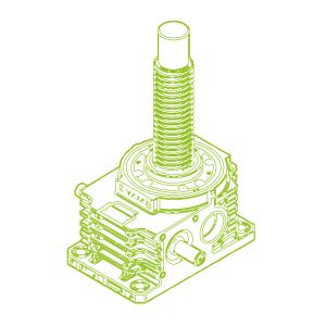 350kN-100×16-Vis trapézoïdale R