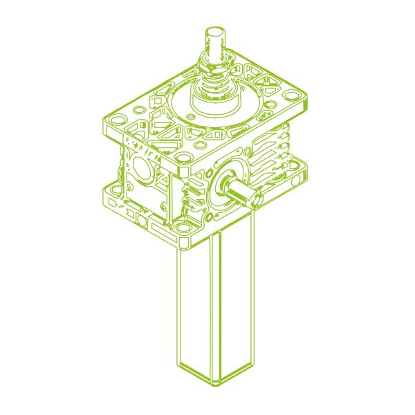 Z Vis trapézoïdale S 5kN | 18x4
