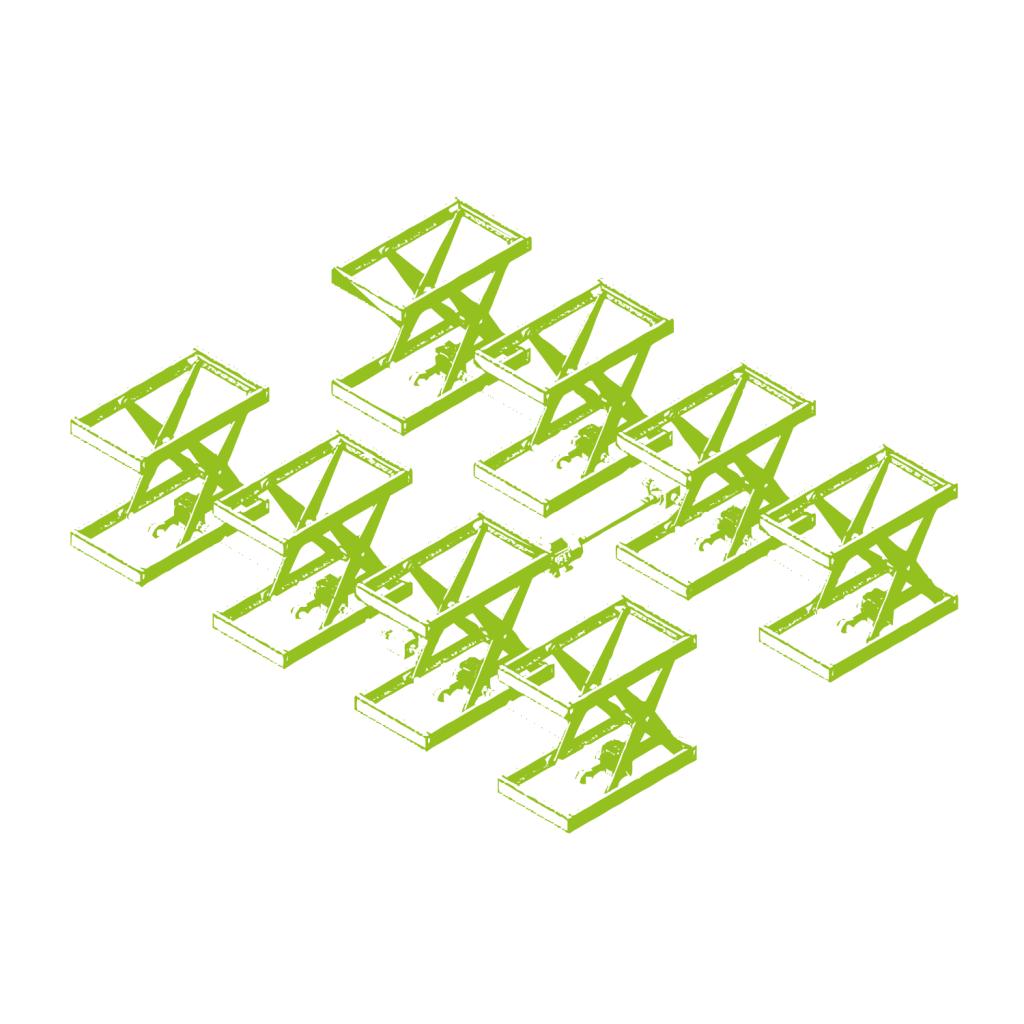 Plate-forme élévatrice à ciseaux