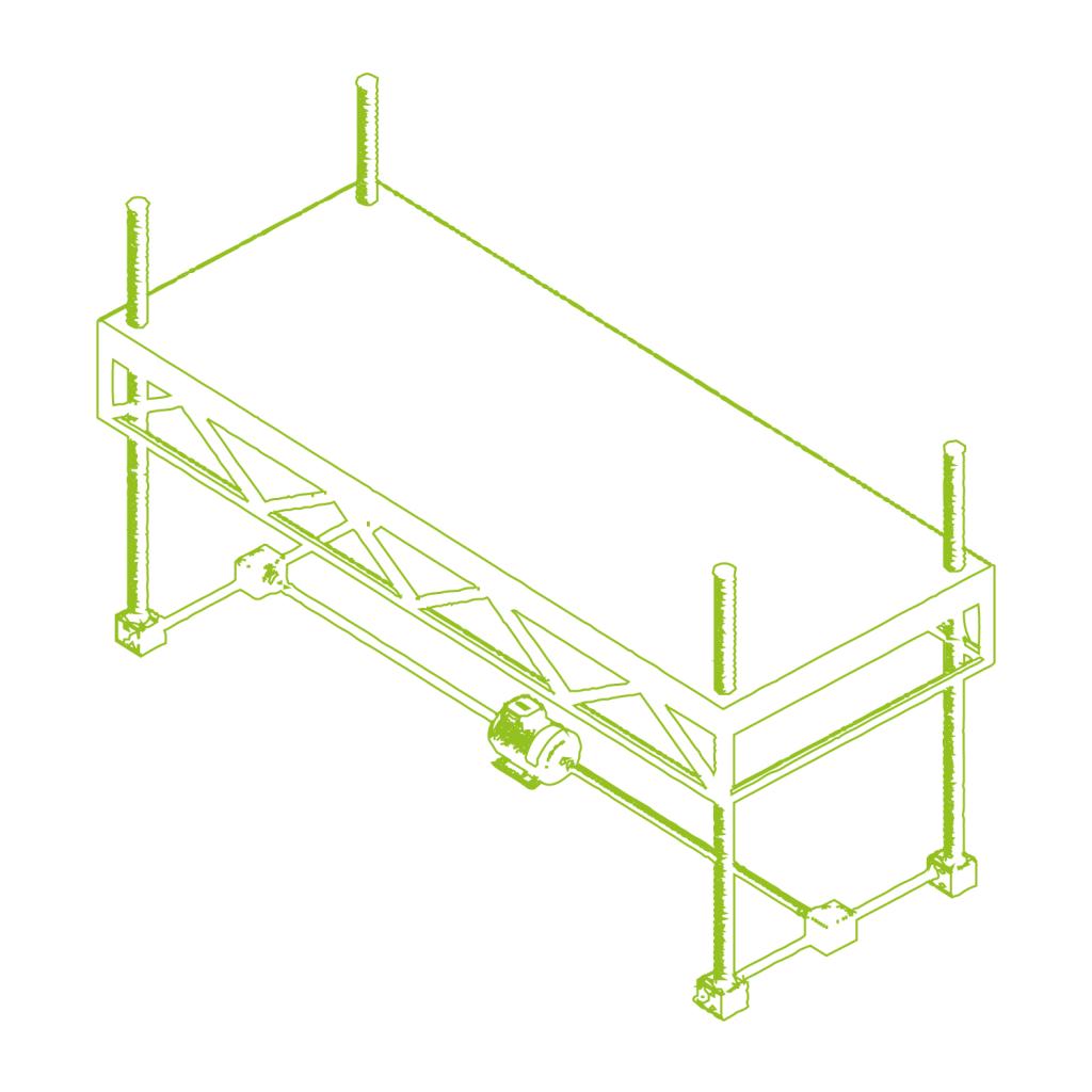 Réglage de hauteur de plate-forme