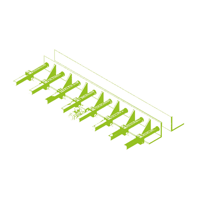 Réglage des coffrages en acier pour poutres en béton